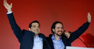 Syriza and Podremos Leaders United